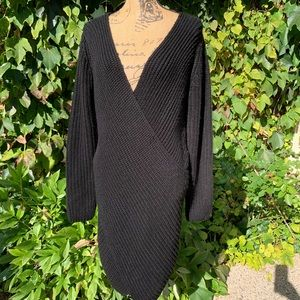 AKIRA CHICAGO Black Label Sweaterdress, M/L